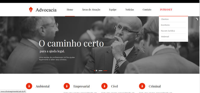 Site de Advogado Silveira e Pimentel